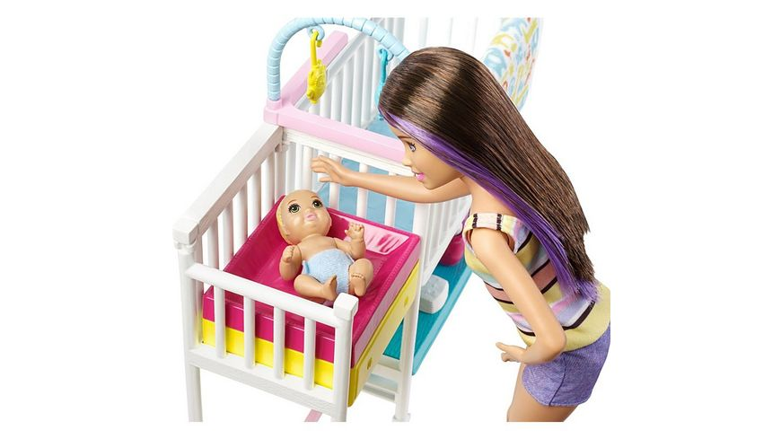 Mattel Barbie Skipper Kinderzimmer Set
