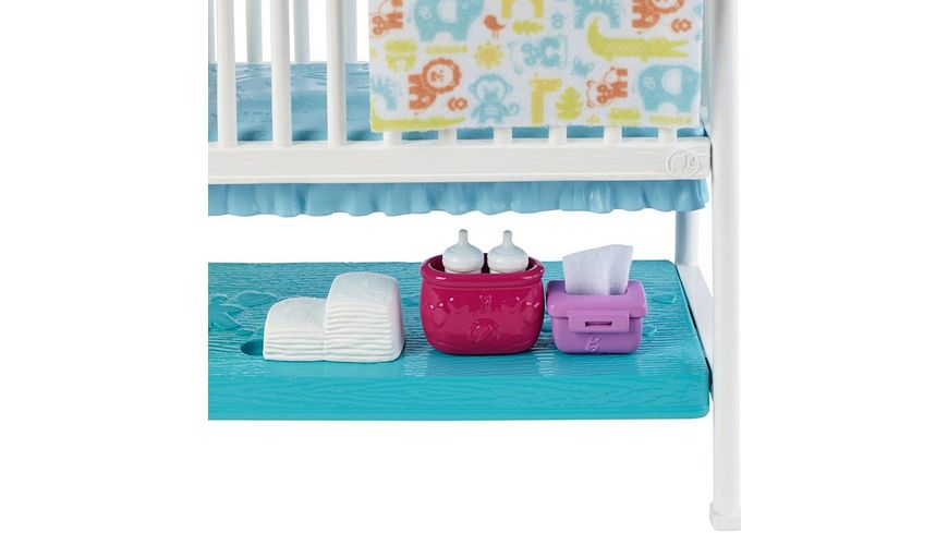 Mattel Barbie Skipper Kinderzimmer Set