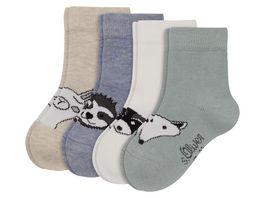 s Oliver Baby Socken Tiere 4er Pack