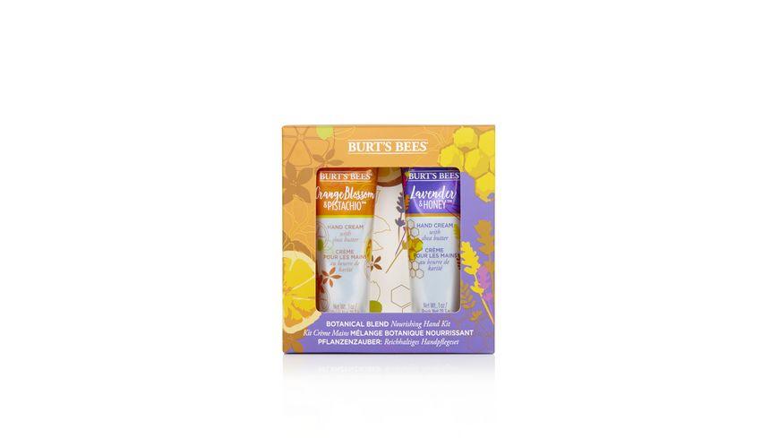 BURT S BEES pflegendes Handcreme Set Lavendel Orangenbluete