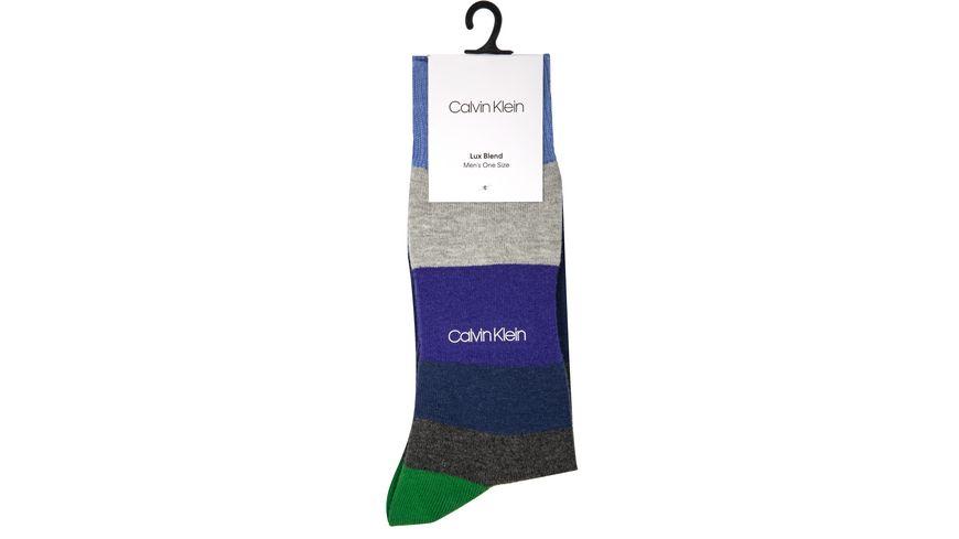 Calvin Klein luxurioese Herrensocke Colourblock