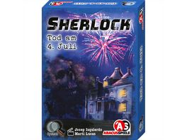 ABACUSSPIELE Sherlock Tod am 4 Juli