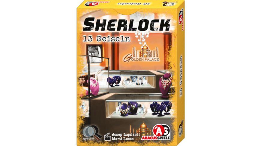 ABACUSSPIELE - Sherlock – 13 Geiseln