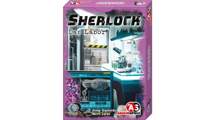 ABACUSSPIELE - Sherlock – Das Labor