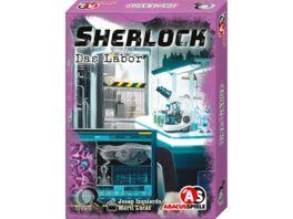 ABACUSSPIELE Sherlock Das Labor
