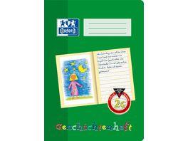 Oxford Schreiblernheft Geschichtenheft A4 Lineatur 2G 16 Blatt