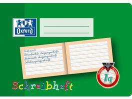 Oxford Schreiblernheft A5 Lineatur 1Q quer 16 Blatt
