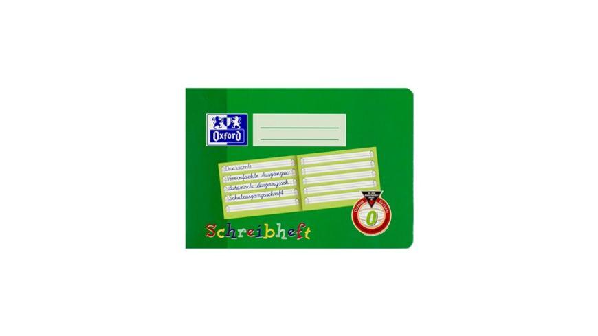 Oxford Schreiblernheft A5 Lineatur 0 quer 16 Blatt