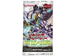 Yu Gi Oh Sammelkartenspiel Battles of Legend Hero s Revenge Booster