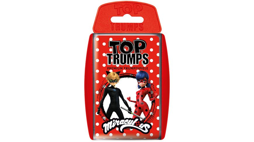 Winning Moves Top Trumps Miraculous