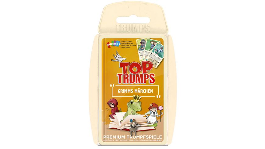 Winning Moves Top Trumps Grimms Maerchen