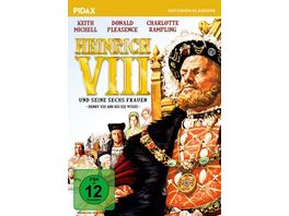 Heinrich VIII und seine sechs Frauen Henry VIII and His Six Wives Historisches Portraet des beruechtigten Koenigs Pidax Historien Klassiker