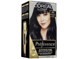 L OREAL PARIS Preference P11 Kuehles Intensives Schwarz Manhattan