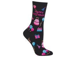 HOTSOX Damen Socken Happy Birthday