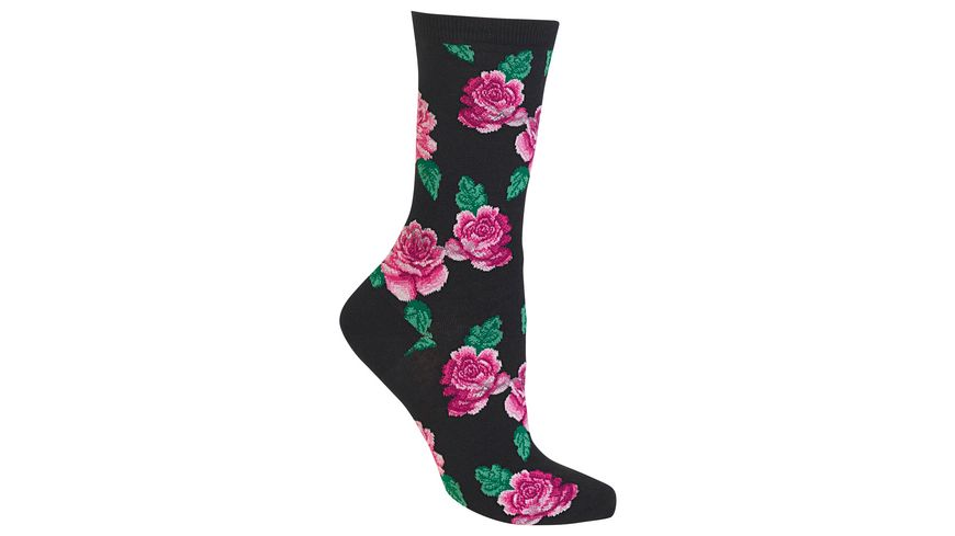 HOTSOX Damen Socken Roses