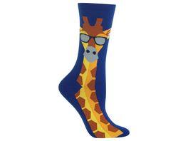 HOTSOX Damen Socken Giraffe