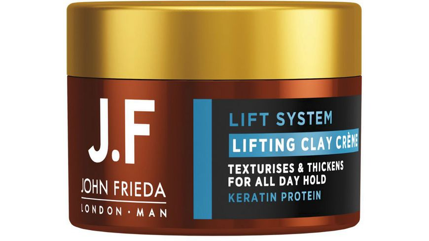 JOHN FRIEDA MAN Lift System Lifting Clay Creme