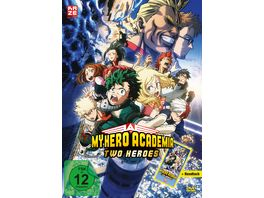 My Hero Academia The Movie Two Heroes DVD Exklusiv nur bei Mueller