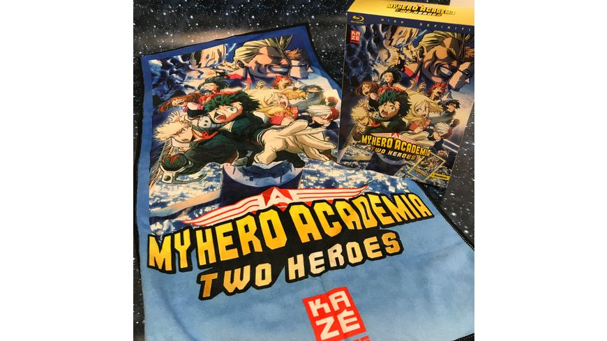 My Hero Academia The Movie Two Heroes Blu ray Exklusiv nur bei Mueller