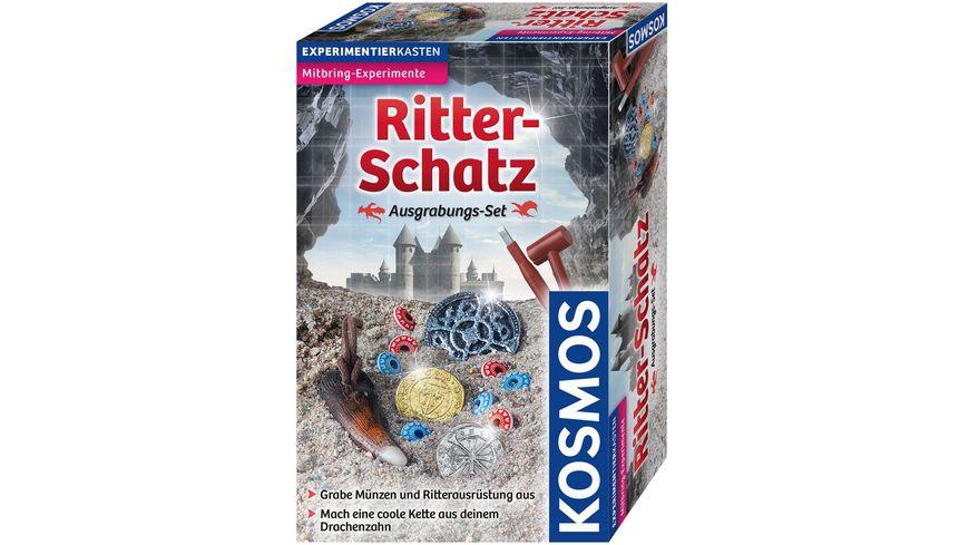 KOSMOS Ritter Schatz Ausgrabungs Set Experimentierkasten