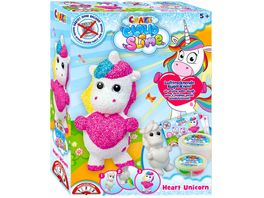 CRAZE Cloud Slime Playset Heart Unicorn