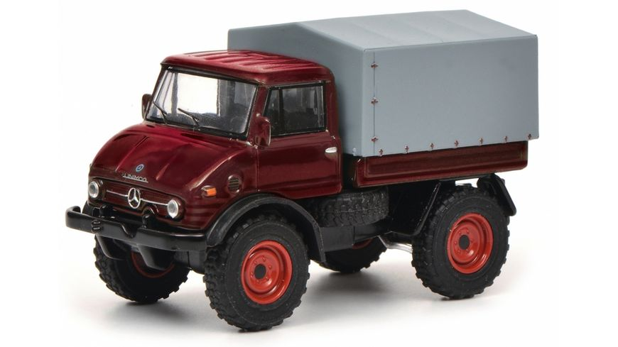 Schuco Edition 1 64 Kit Mercedes Benz Unimog U406 rot 1 64