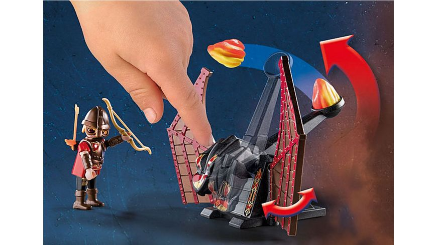 PLAYMOBIL 70226 Novelmore Burnham Raiders Kampftraining des Drachen