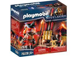 PLAYMOBIL 70228 Novelmore Burnham Raiders Feuerwerkskanonen und Feuermeister