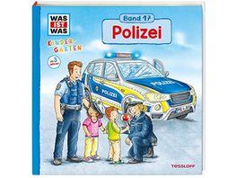 WAS IST WAS Kindergarten Band 17 Polizei