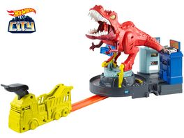 Mattel Hot Wheels City T Rex Attacke