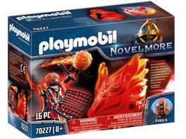 PLAYMOBIL 70227 Novelmore Burnham Raiders Feuergeist und die Hueterin des Feuers