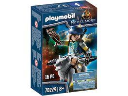 PLAYMOBIL 70229 Novelmore Armbrustschuetze mit Wolf
