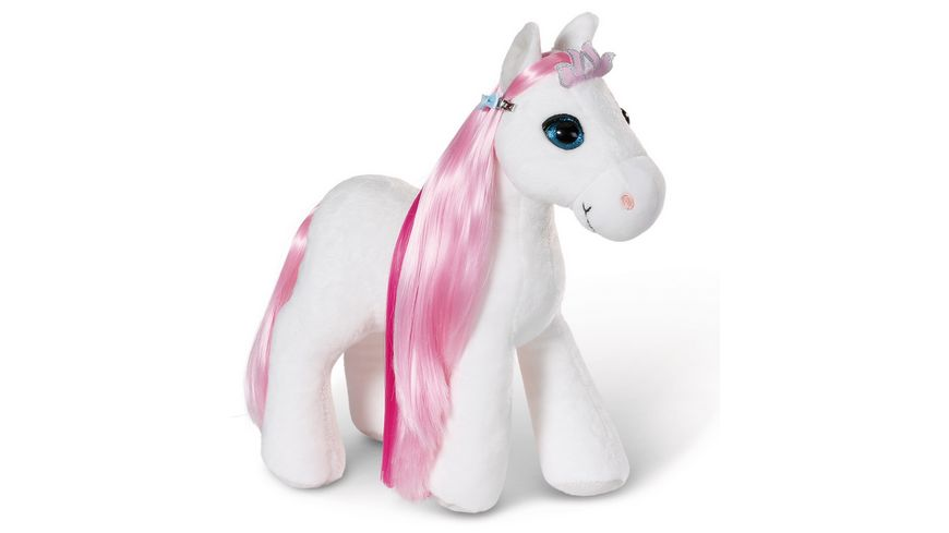 NICI Soulmates Styling Pferd Soulmates Princess 30cm mit Zubehoer und Sound in Geschenkverpackung