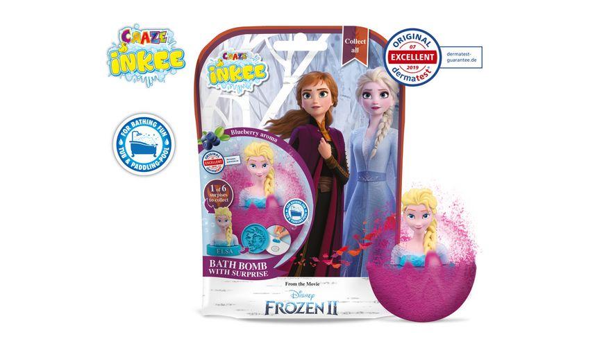 CRAZE - Inkee - Überraschungsbadekugel Frozen
