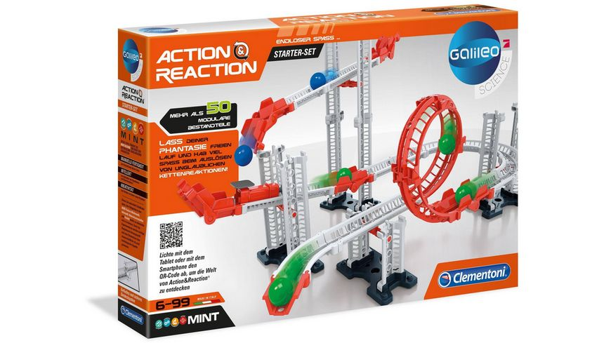 Clementoni Action und Reaction Starter Set