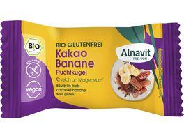 Alnavit Bio Frucht Kugel Kakao Banane glutenfrei