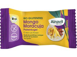Alnavit Bio Protein Kugel Mango Maracuja glutenfrei
