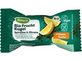 Alnavit Bio Frucht Kugel Spirulina Zitron