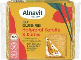 Alnavit Bio Haferbrot Karotte Kuerbis glutenfrei