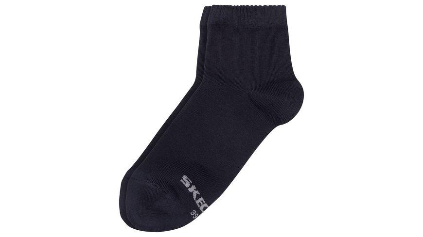 SKECHERS Herren Socken Basic Quarter Socken 3er Pack