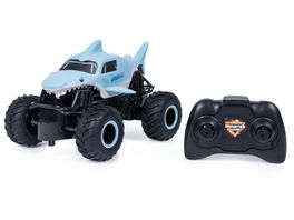 Spin Master Monster Jam Official Megalodon Remote Control Monster Truck 1 24 Scale 2 4 GHz