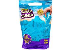 Spin Master Kinetic Sand 907 g blauer Kinetic Sand im wiederverschliessbaren Beutel