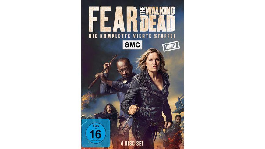 Fear The Walking Dead Staffel 4 Uncut 4 DVDs