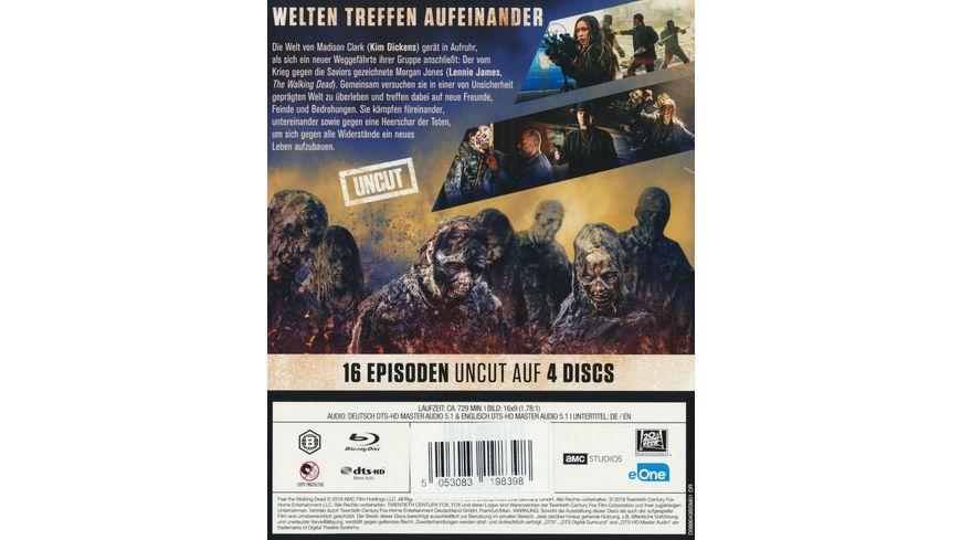 Fear The Walking Dead Staffel 4 Uncut 4 BRs