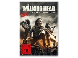 The Walking Dead Staffel 8 6 DVDs