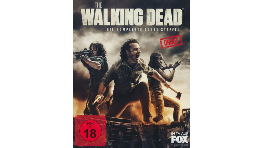 The Walking Dead Staffel 8 Uncut 6 BRs