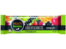 Hochgenuss Fruchtschnitte Multifrucht