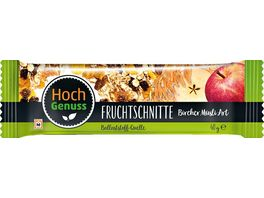 Hochgenuss Fruchtschnitte Bircher Muesli