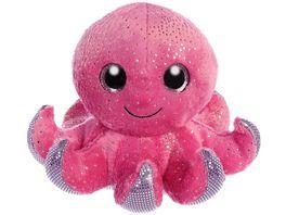 Mueller Toy Place Sparkle Tales Plueschtier Oktopus 13 cm
