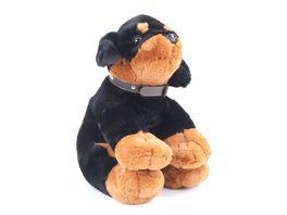 Ostoy Trading Plueschhund Rottweiler sitzend 45 cm